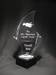 The Killer Nashville John Seigenthaler Legends Award